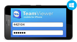 Скачать TeamViewer для Windows Phone